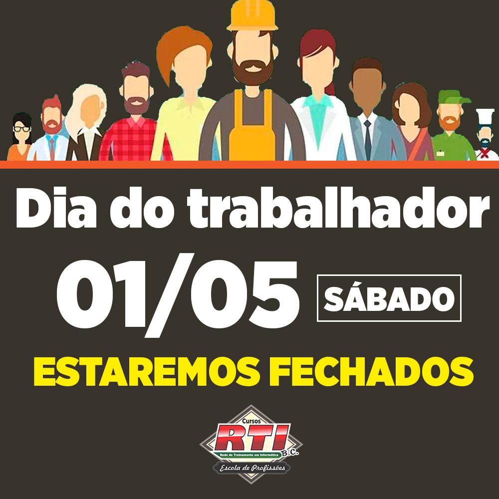 01 DE MAIO